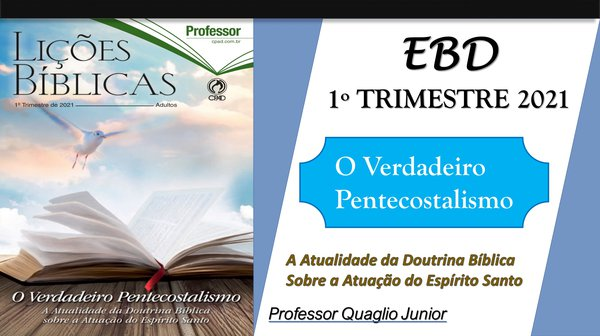 EBD 1º TRIMESTRE 2021