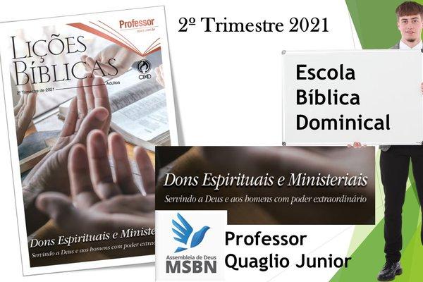 EBD 2º TRIMESTRE 2021